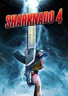 Sharknado 4: The 4th Awakens - DVD movie cover (xs thumbnail)
