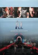 Artificial Intelligence: AI - Swedish Movie Poster (xs thumbnail)