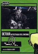 Detour - Italian DVD cover (xs thumbnail)
