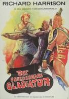 Gladiatore invincibile, Il - German Movie Poster (xs thumbnail)