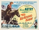 The Blazing Sun - Movie Poster (xs thumbnail)