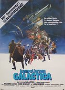 Battlestar Galactica - Danish Movie Poster (xs thumbnail)