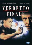 Ricochet - Italian VHS cover (xs thumbnail)