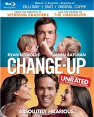 The Change-Up - Blu-Ray movie cover (xs thumbnail)