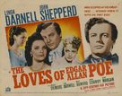 The Loves of Edgar Allan Poe - Movie Poster (xs thumbnail)