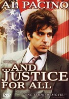 ...And Justice for All - DVD movie cover (xs thumbnail)