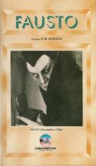 Faust - Brazilian VHS cover (xs thumbnail)