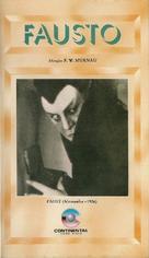Faust - Brazilian VHS movie cover (xs thumbnail)