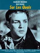 On the Waterfront - French Re-release movie poster (xs thumbnail)