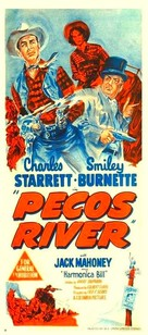 Pecos River - Australian Movie Poster (xs thumbnail)