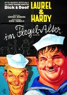 Laurel and Hardy's Laughing 20's - German Movie Poster (xs thumbnail)