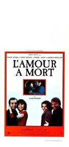 Amour à mort, L' - Italian Movie Poster (xs thumbnail)
