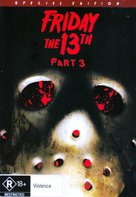 Friday the 13th Part III - Australian DVD cover (xs thumbnail)