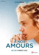 À nos amours - French DVD movie cover (xs thumbnail)