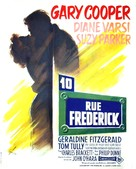 Ten North Frederick - French Movie Poster (xs thumbnail)