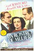 A Woman's Face - Spanish Movie Poster (xs thumbnail)