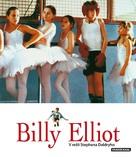 Billy Elliot - Czech Blu-Ray cover (xs thumbnail)