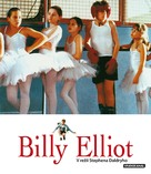 Billy Elliot - Czech Blu-Ray movie cover (xs thumbnail)