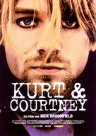 Kurt & Courtney - German Theatrical poster (xs thumbnail)