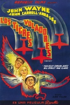 Flying Tigers - Spanish Movie Poster (xs thumbnail)