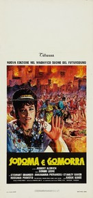 Sodom and Gomorrah - Italian Movie Poster (xs thumbnail)