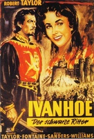 Ivanhoe - German Movie Poster (xs thumbnail)