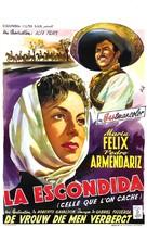 La escondida - Belgian Movie Poster (xs thumbnail)