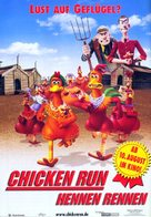 Chicken Run - German Movie Poster (xs thumbnail)