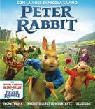 Peter Rabbit - Italian Blu-Ray movie cover (xs thumbnail)