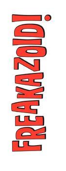 """""""Freakazoid!"""" - Logo (xs thumbnail)"""