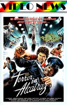 Terror on Alcatraz - German VHS movie cover (xs thumbnail)