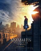 Fantastic Beasts and Where to Find Them - Argentinian Movie Poster (xs thumbnail)