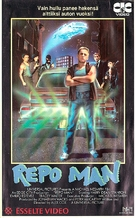 Repo Man - Finnish VHS movie cover (xs thumbnail)