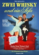Zwei Whisky und ein Sofa - German Movie Poster (xs thumbnail)