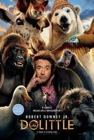 Dolittle - Turkish Movie Poster (xs thumbnail)