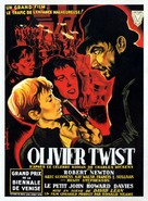 Oliver Twist - French Movie Poster (xs thumbnail)
