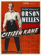 Citizen Kane - French Movie Poster (xs thumbnail)