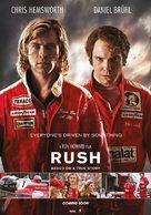 Rush - Danish Movie Poster (xs thumbnail)