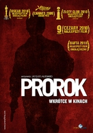 Un prophète - Polish Movie Poster (xs thumbnail)