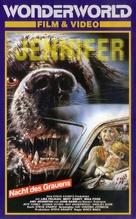 Jennifer - German VHS movie cover (xs thumbnail)