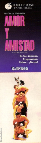 Lie Down with Dogs - Argentinian Movie Cover (xs thumbnail)