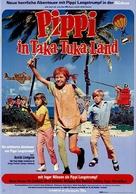 Pippi Långstrump på de sju haven - German Movie Poster (xs thumbnail)