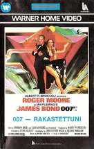 The Spy Who Loved Me - Finnish VHS movie cover (xs thumbnail)