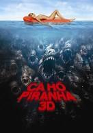 Piranha - Vietnamese Movie Poster (xs thumbnail)