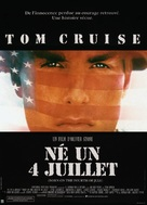 Born on the Fourth of July - French Movie Poster (xs thumbnail)