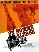 A Man Called Sledge - French Movie Poster (xs thumbnail)