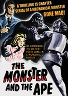 The Monster and the Ape - DVD cover (xs thumbnail)