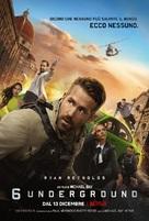 6 Underground - Italian Movie Poster (xs thumbnail)