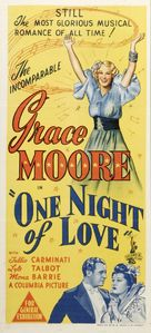 One Night of Love - Australian Movie Poster (xs thumbnail)