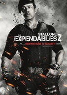 The Expendables 2 - Swedish Movie Poster (xs thumbnail)